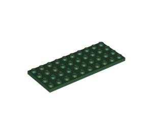 LEGO Dark Green Plate 4 x 10 (3030)