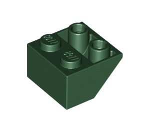 LEGO Dark Green Slope 2 x 2 (45°) Inverted (3660)