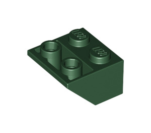 LEGO Dark Green Slope 45° 2 x 2 Inverted (3660)