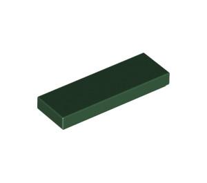 LEGO Dark Green Tile 1 x 3 (63864)