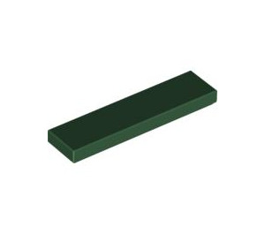 LEGO Dark Green Tile 1 x 4 (2431)