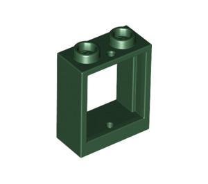 LEGO Dark Green Window 1 x 2 x 2 (60592)