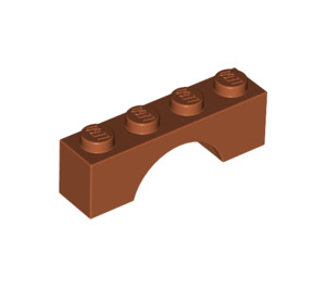 LEGO Dark Orange Arch 1 x 4 (3659)