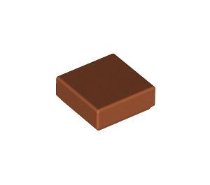 LEGO Dark Orange Tile 1 x 1 with Groove (3070)