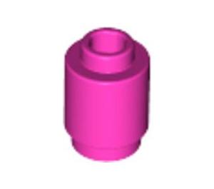 LEGO Dark Pink Brick Round 1 x 1 with Open Stud (3062)