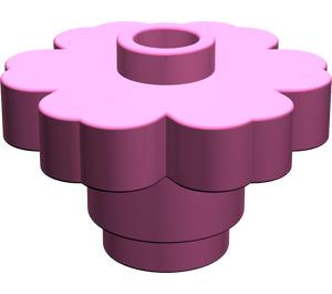 LEGO Dark Pink Flower 2 x 2 with Open Stud (4728)