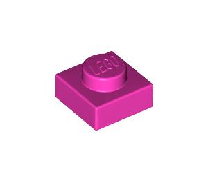 LEGO Dark Pink Plate 1 x 1 (3024)