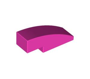 LEGO Dark Pink Slope 1 x 3 Curved (50950)