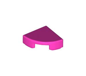 LEGO Dark Pink Tile Quarter Circle 1 x 1 (25269)