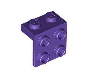 LEGO Dark Purple Bracket 1 x 2 - 2 x 2 (21712 / 44728)