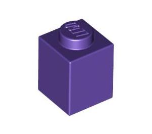LEGO Dark Purple Brick 1 x 1 (3005)