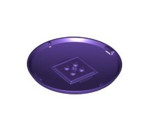 LEGO Dark Purple Container Storage X-Pod Base  (47676)