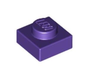 LEGO Dark Purple Plate 1 x 1 (3024)