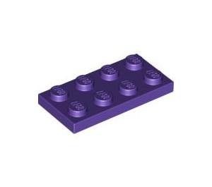 LEGO Dark Purple Plate 2 x 4 (3020)