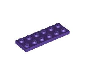 LEGO Dark Purple Plate 2 x 6 (3795)