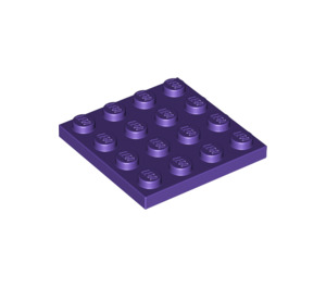 LEGO Dark Purple Plate 4 x 4 (3031)