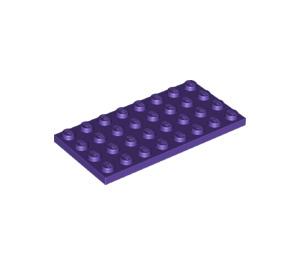 LEGO Dark Purple Plate 4 x 8 (3035)