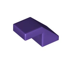 LEGO Dark Purple Slope 1 x 2° 45 (28192)