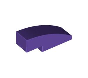 LEGO Dark Purple Slope 1 x 3 Curved (50950)