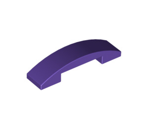 LEGO Dark Purple Slope 1 x 4 Curved Double (93273)
