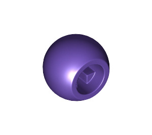 LEGO Dark Purple Technic Ball (32474)