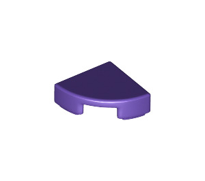 LEGO Dark Purple Tile Quarter Circle 1 x 1 (25269)