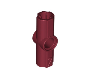 LEGO Dark Red Angle Connector #2 (180º) (32034)