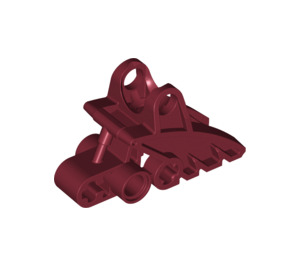 LEGO Dark Red Bionicle Foot (41668)