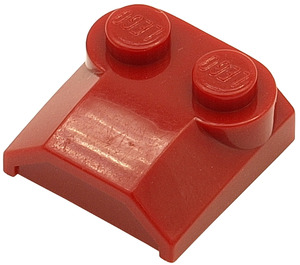 LEGO Dark Red Bonnet 2 x 2 x 2/3 without Curved End (41855)