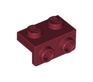 LEGO Dark Red Bracket 1 x 2 - 1 x 2 (99781)