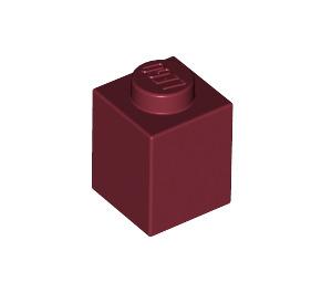 LEGO Dark Red Brick 1 x 1 (3005)