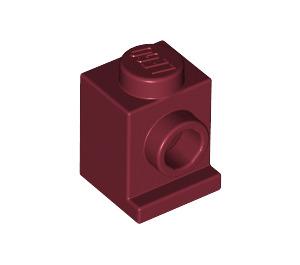 LEGO Dark Red Brick 1 x 1 with Headlight and No Slot (4070)