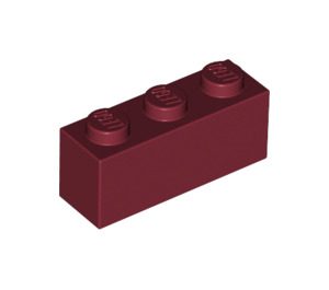 LEGO Dark Red Brick 1 x 3 (3622)