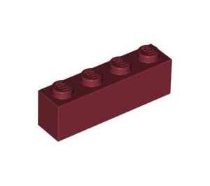 LEGO Dark Red Brick 1 x 4 (3010)
