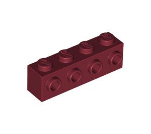 LEGO Dark Red Brick 1 x 4 with 4 Studs on 1 Side (30414)