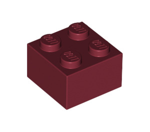 LEGO Dark Red Brick 2 x 2 (3003)