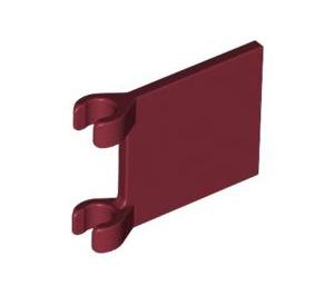 LEGO Dark Red Flag 2 x 2 (11055 / 60779)