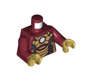 LEGO Dark Red Minifigure Iron Man Torso (76382)