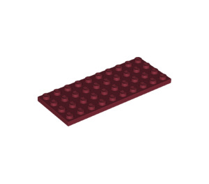 LEGO Dark Red Plate 4 x 10 (3030)