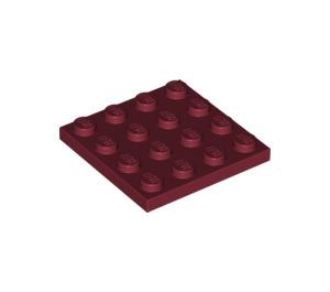 LEGO Dark Red Plate 4 x 4 (3031)