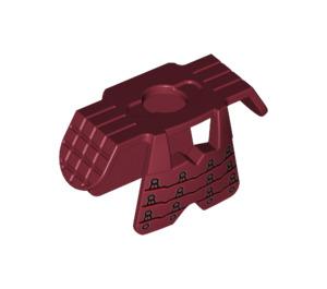 LEGO Dark Red Samurai Minifig Armor Samurai (19047)
