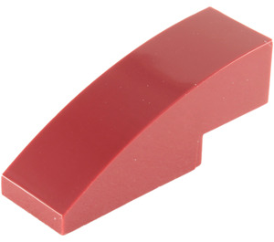 LEGO Dark Red Slope 1 x 3 Curved (50950)