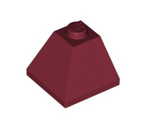 LEGO Dark Red Slope 45° 2 x 2 (3045)