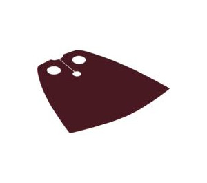 LEGO Dark Red Standard Cape with Regular Starched Texture (50231)