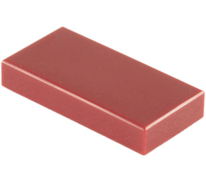 LEGO Dark Red Tile 1 x 2 with Groove (3069)