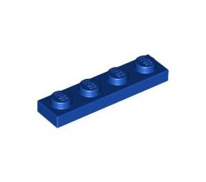 LEGO Dark Royal Blue Plate 1 x 4 (3710)