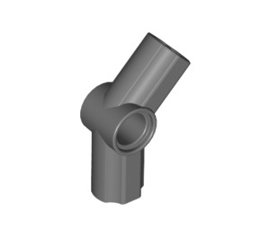LEGO Dark Stone Gray Angle Connector #4 (135º) (32192 / 42156)