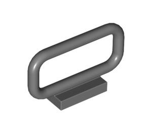 LEGO Dark Stone Gray Bar 1 x 4 x 2 (6187)