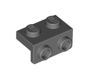 LEGO Dark Stone Gray Bracket 1 x 2 - 1 x 2 (99781)