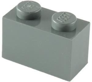 LEGO Dark Stone Gray Brick 1 x 2 (3004)
